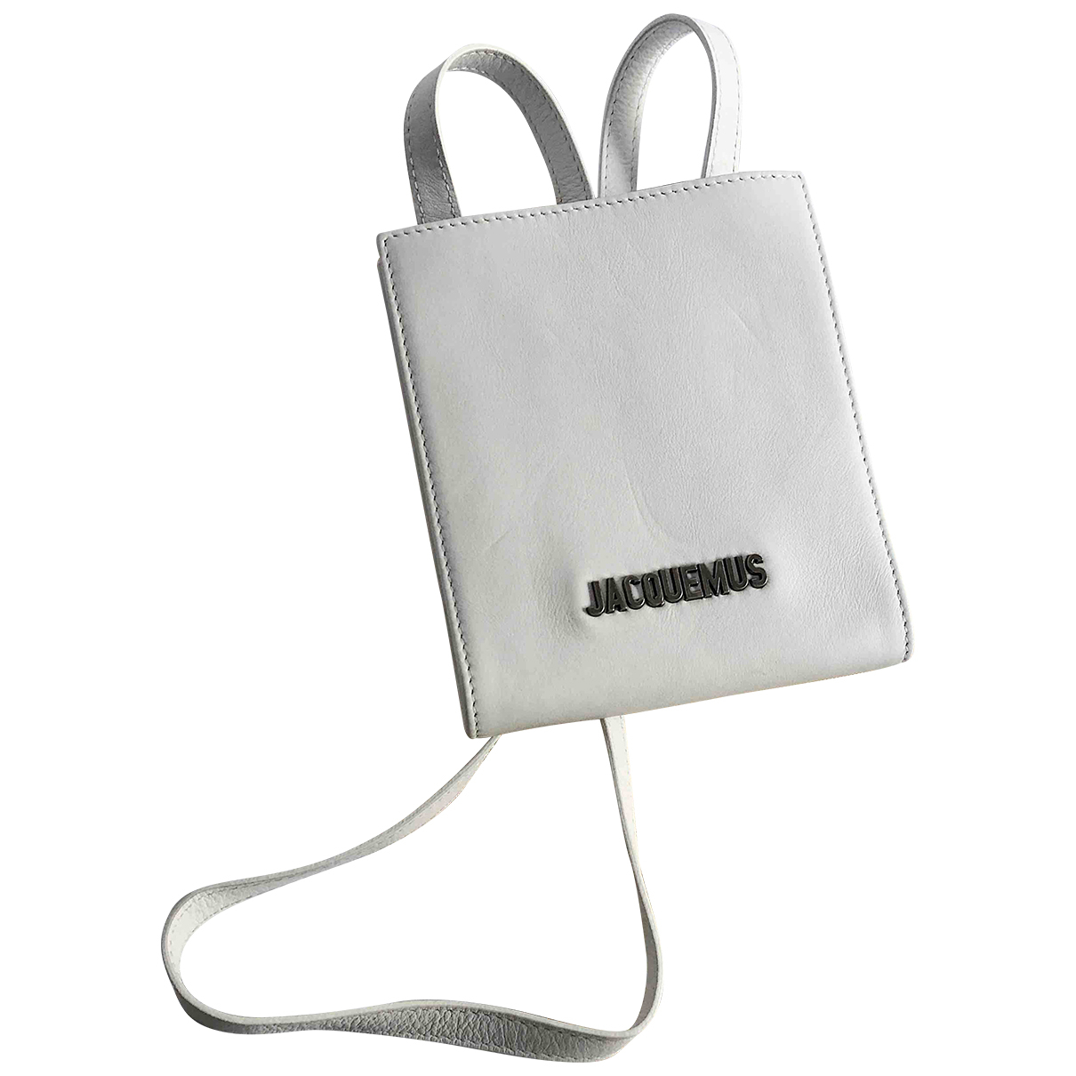 Jacquemus N White Leather Purses, wallet & cases for Women N