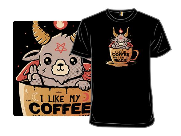 Black Coffee T Shirt