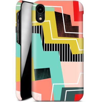 Apple iPhone XR Smartphone Huelle - Color Block I von Susana Paz