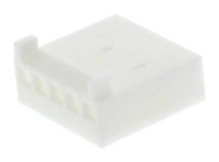 Molex , KK 254 Female Connector Housing, 2.54mm Pitch, 5 Way, 1 Row (10)