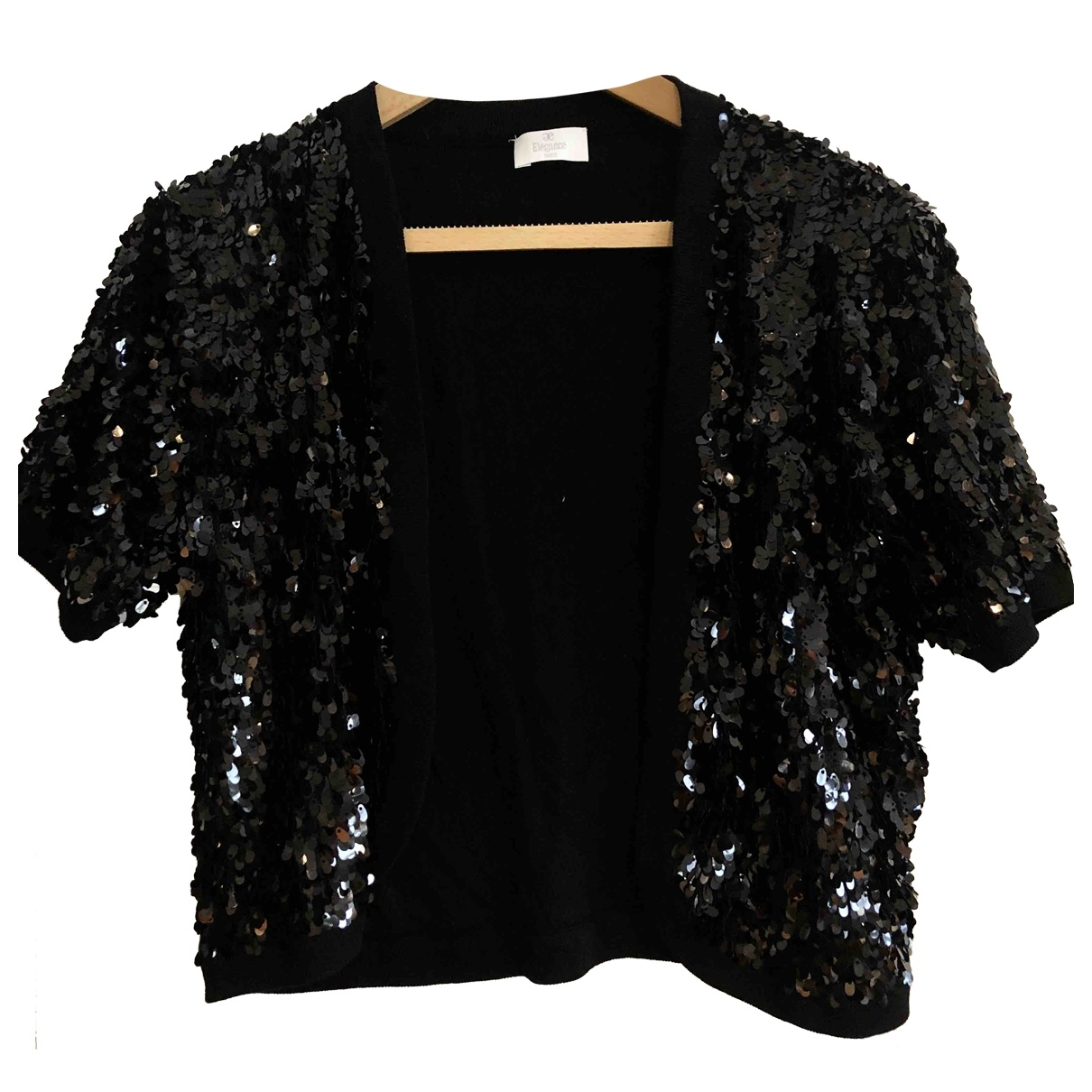 Elegance Paris \N Black jacket for Women 18-20 UK