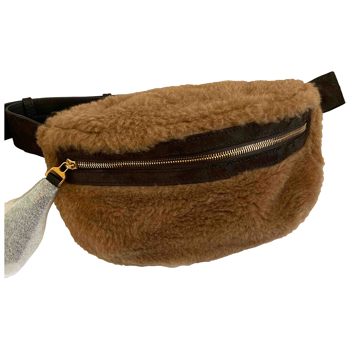 Max Mara \N Brown Shearling Clutch bag for Women \N