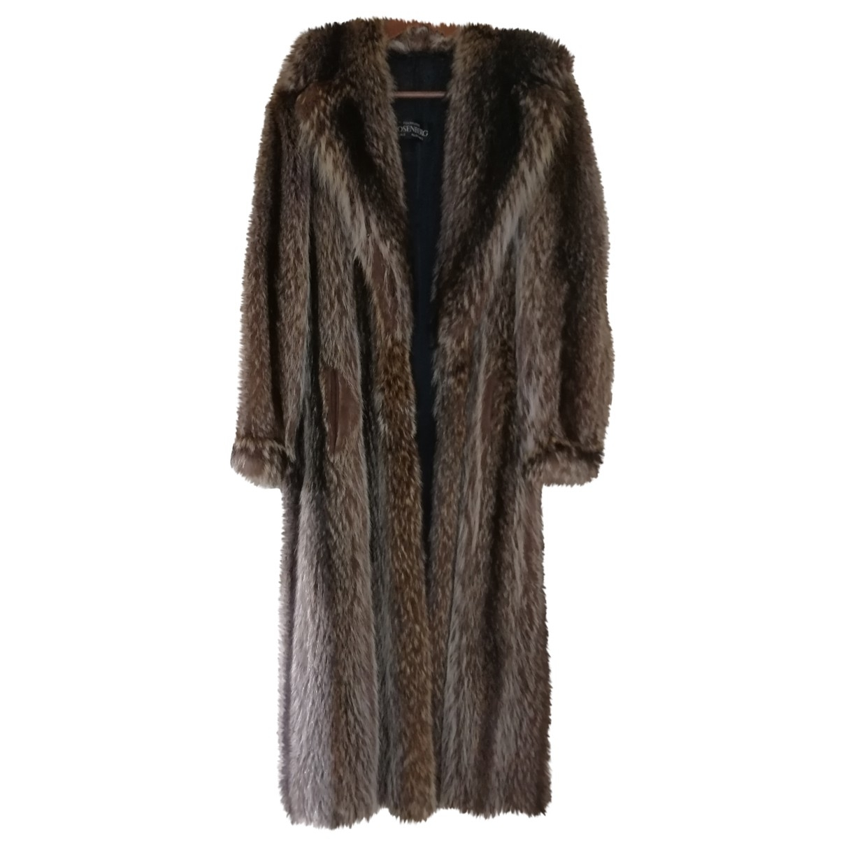 Rosenberg & Lenhart - Manteau   pour femme en fourrure - marron