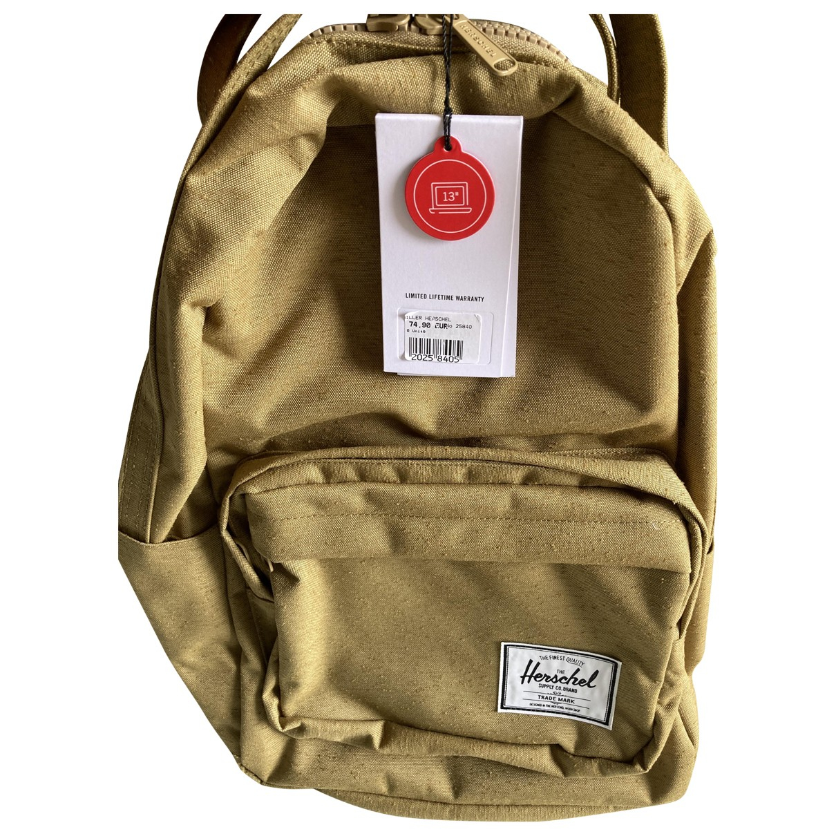 Herschel \N Khaki Cotton bag for Men \N