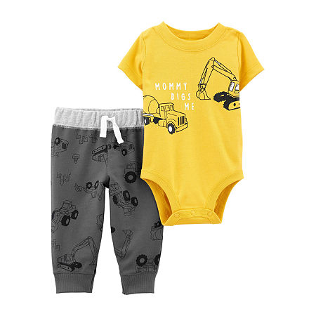 Carter's Baby Boys 2-pc. Pant Set, 18 Months , Yellow