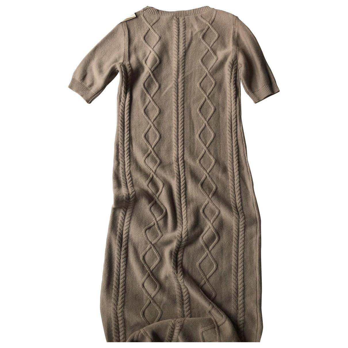 Peserico - Robe   pour femme en laine - camel