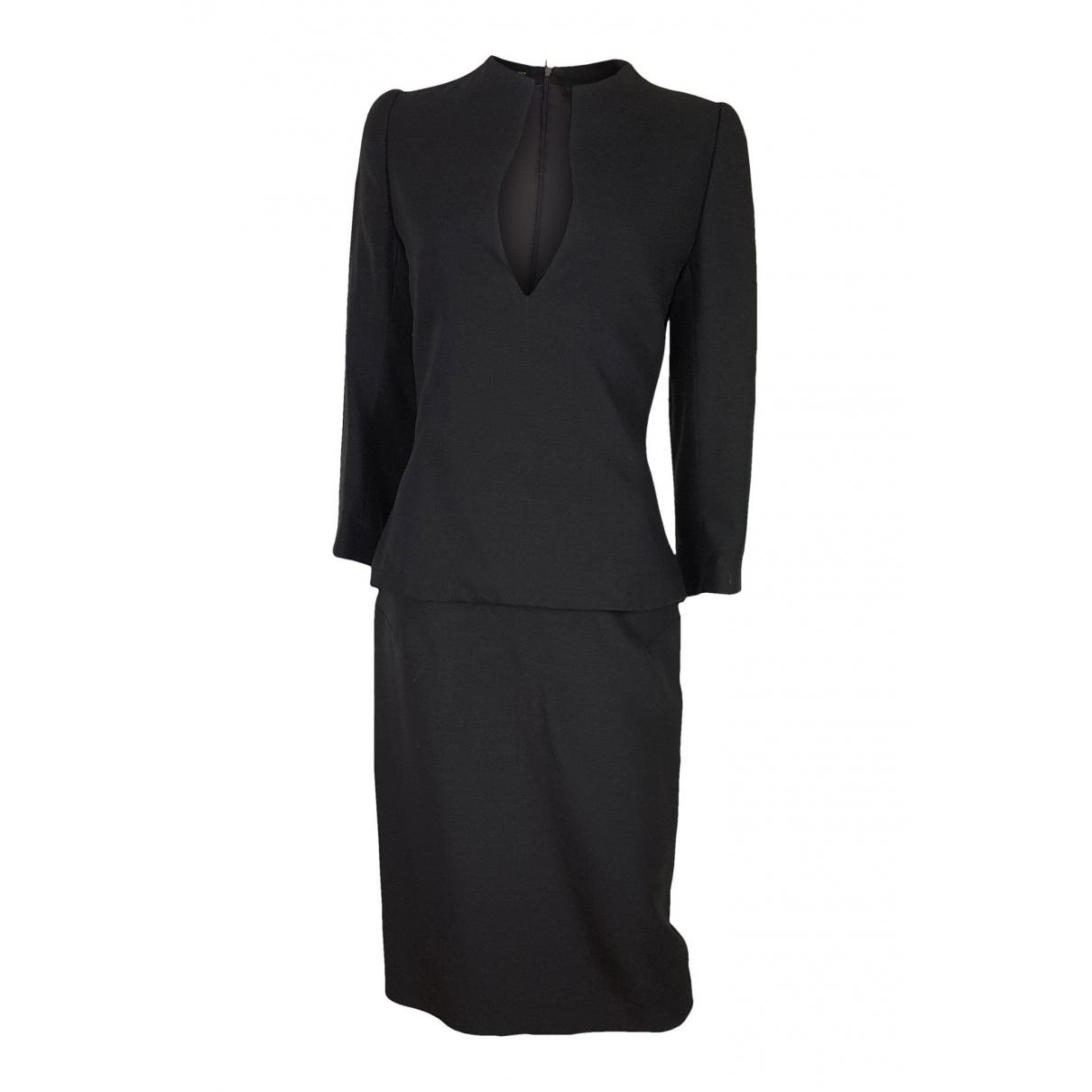 Alexander Mcqueen - Robe   pour femme en laine - marron