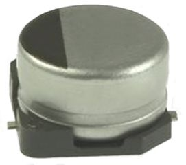 Nichicon 22μF Electrolytic Capacitor 10V dc, Surface Mount - UZD1A220MCL1GB (10)