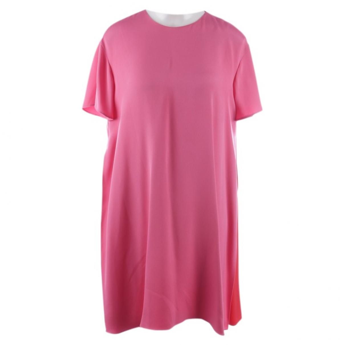 Valentino Garavani \N Pink Silk dress for Women 40 FR