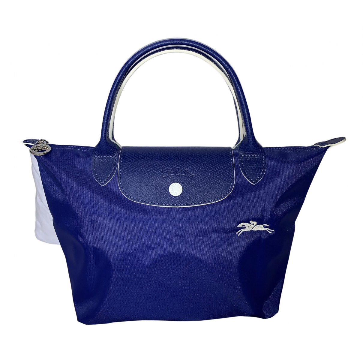 Longchamp Pliage  Blue Cloth handbag for Women N