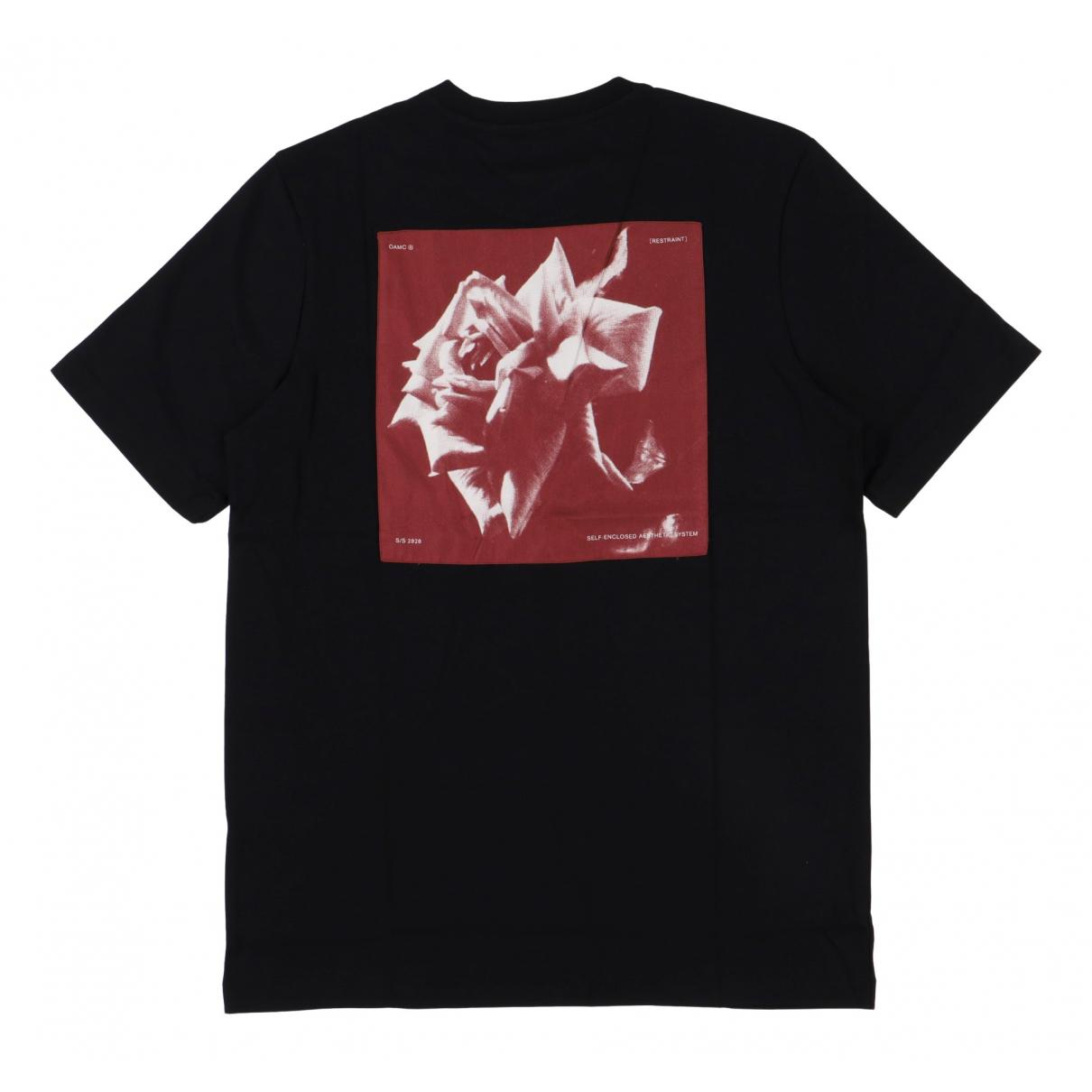 Oamc - Tee shirts   pour homme en coton - noir