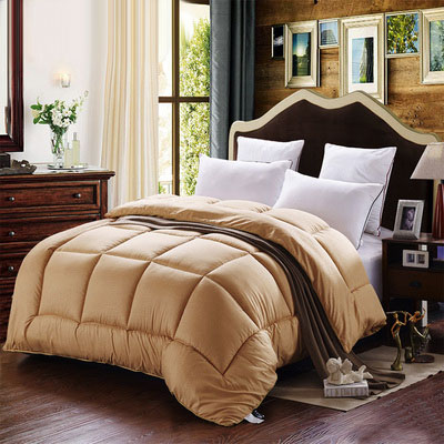 Gorgeous Warm and Comfortable Solid Color Thicken Quilt