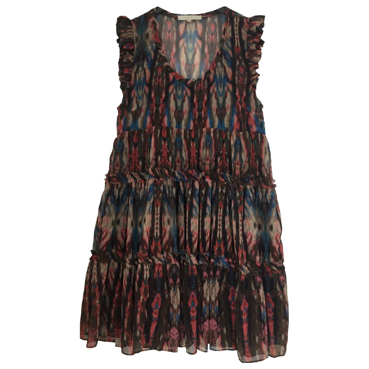 Sandro \N Kleid in  Bunt Polyester
