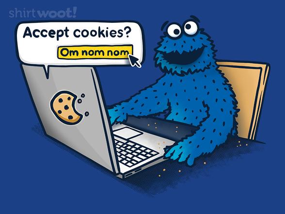 Me Accept Cookies T Shirt