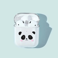 Funda Airpods Panda Print
