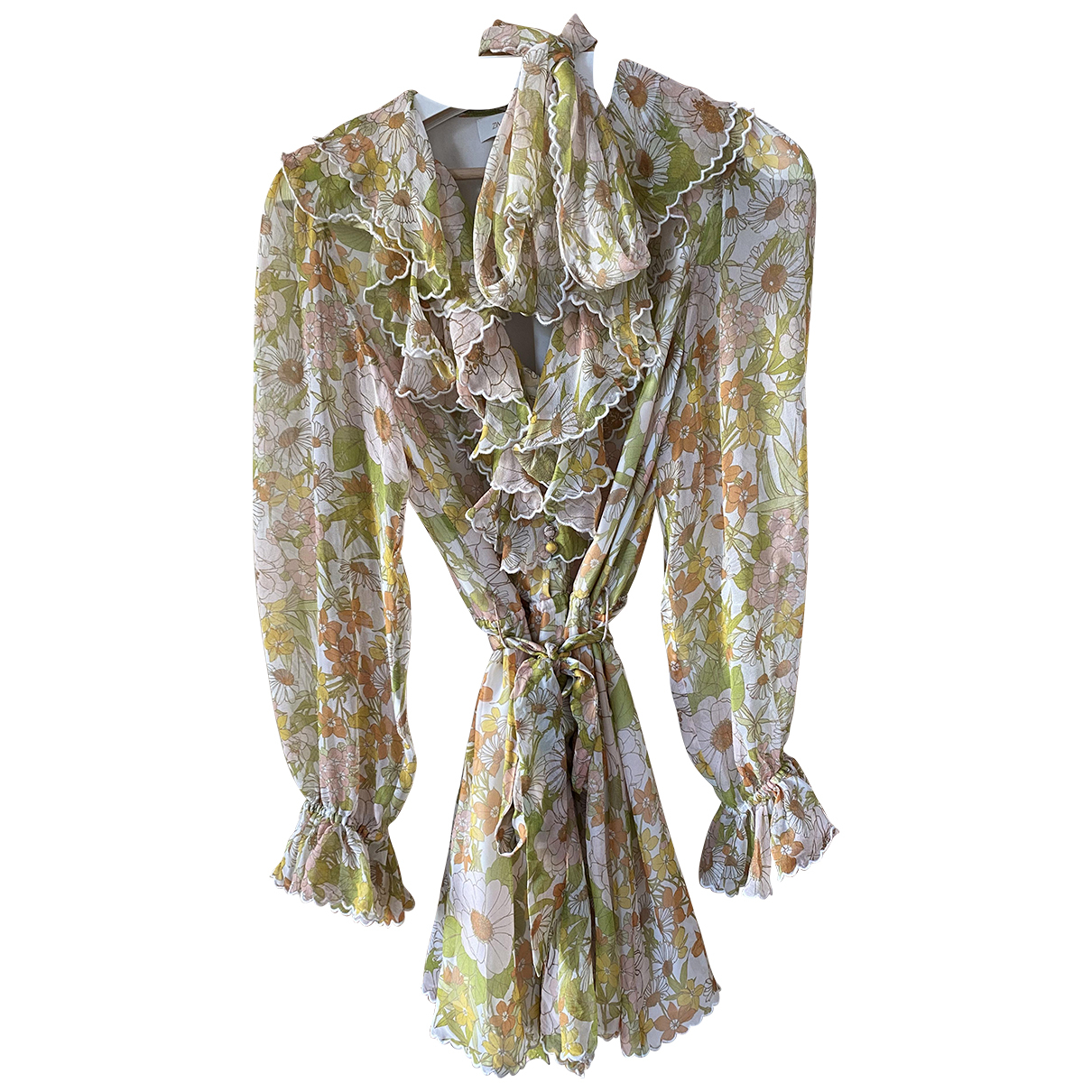 Zimmermann N Multicolour Silk jumpsuit for Women 2 0-5