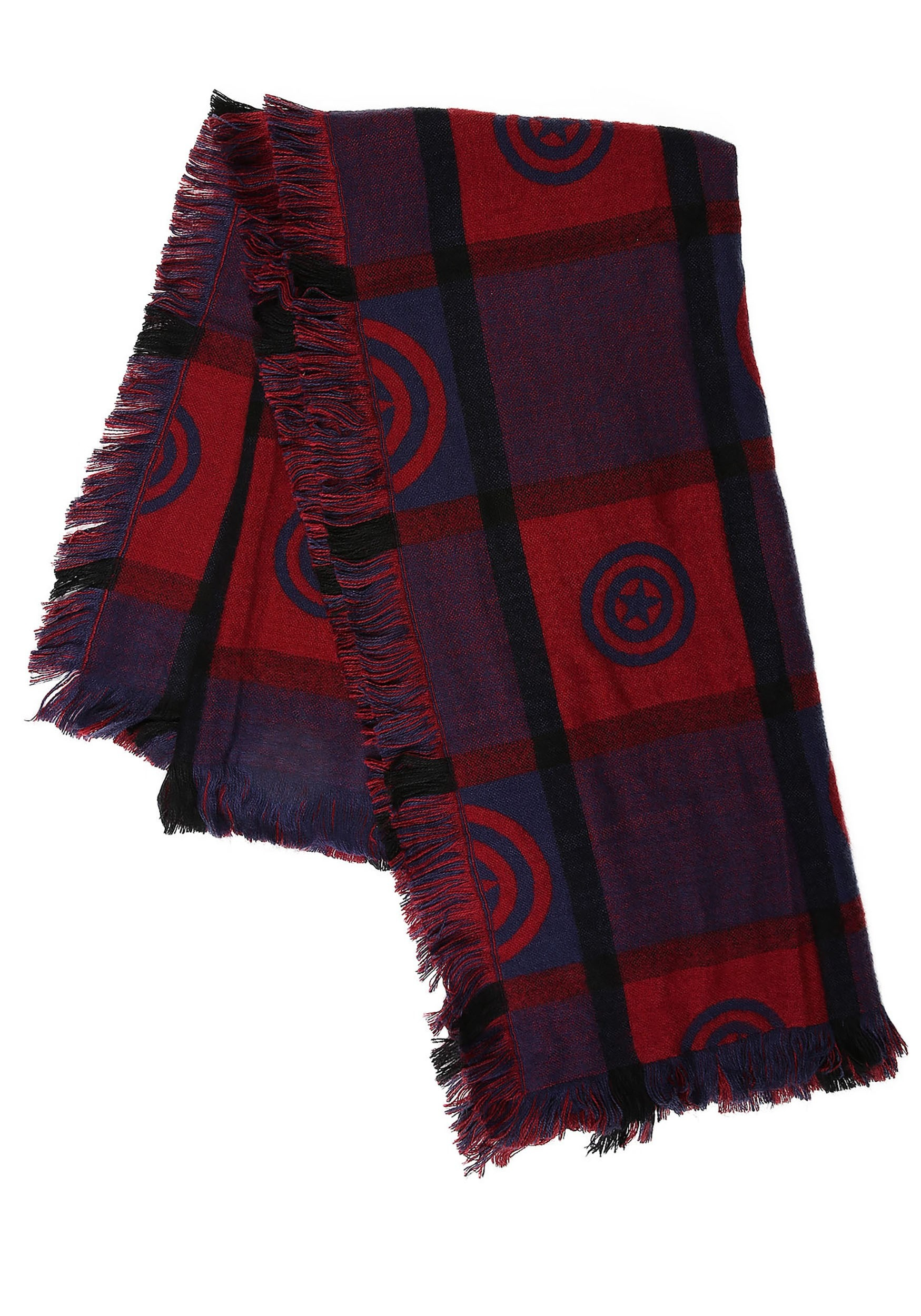 Marvel Captain America Blanket Scarf for Women