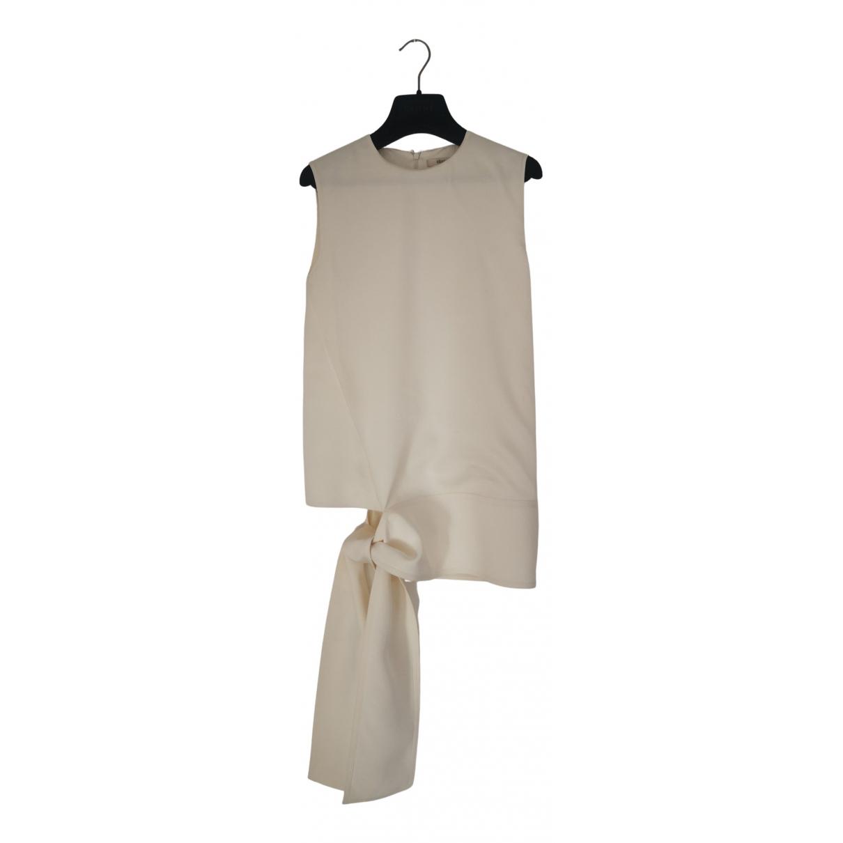 Celine N Ecru Silk  top for Women 34 FR