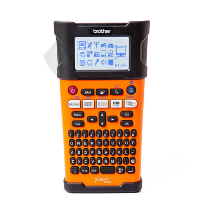 Brother@ P-Touch@ PT-E300VP Handheld Industrial Labeller