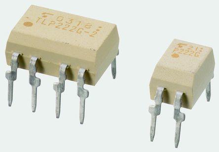 Toshiba , TLP225A(F) DC Input MOSFET Output Optocoupler, Through Hole, 4-Pin PDIP (5)