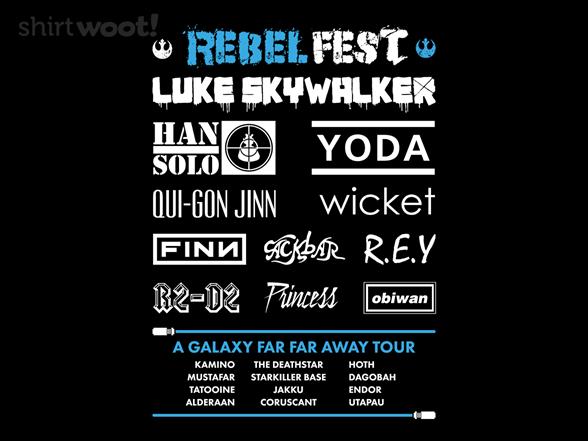 Rebel Fest T Shirt