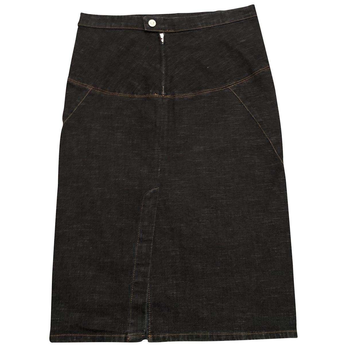 Versace Jeans \N Rocke in  Blau Denim - Jeans