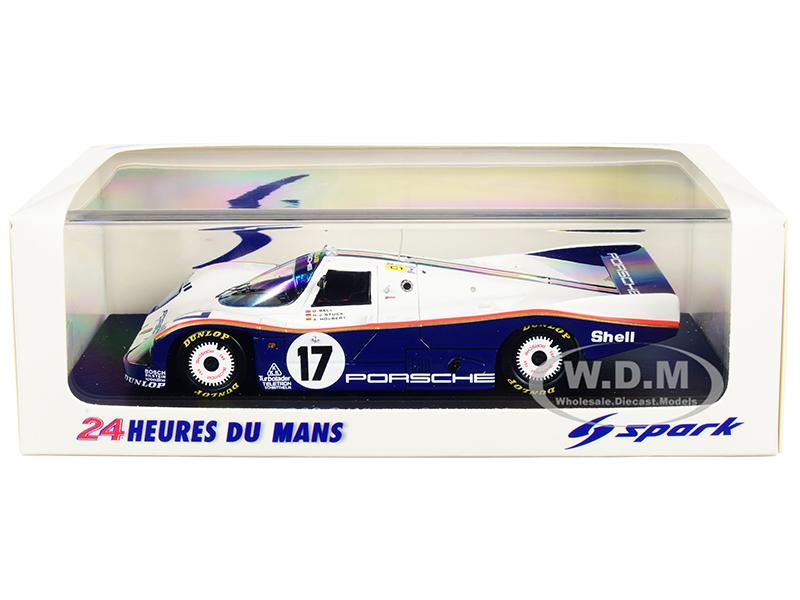 Porsche 962 C 17 D. Bell - H. J. Stuck - A. Holbert Winner 24 Hours of Le Mans (1987) 1/43 Model Car by Spark