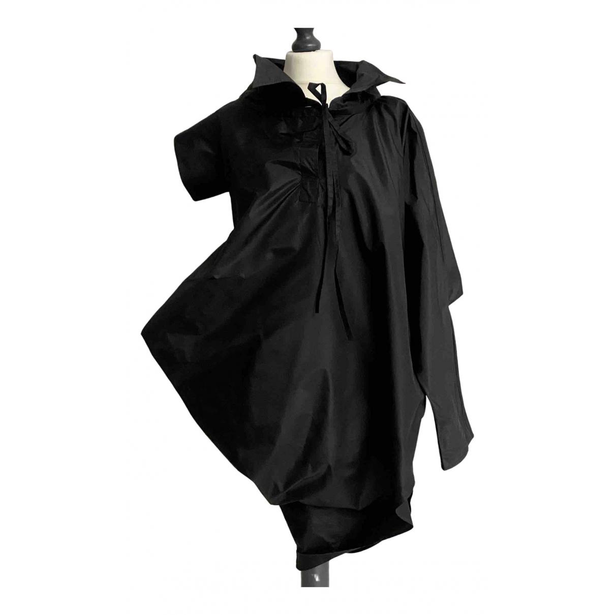 Gianfranco Ferre \N Kleid in  Schwarz Seide