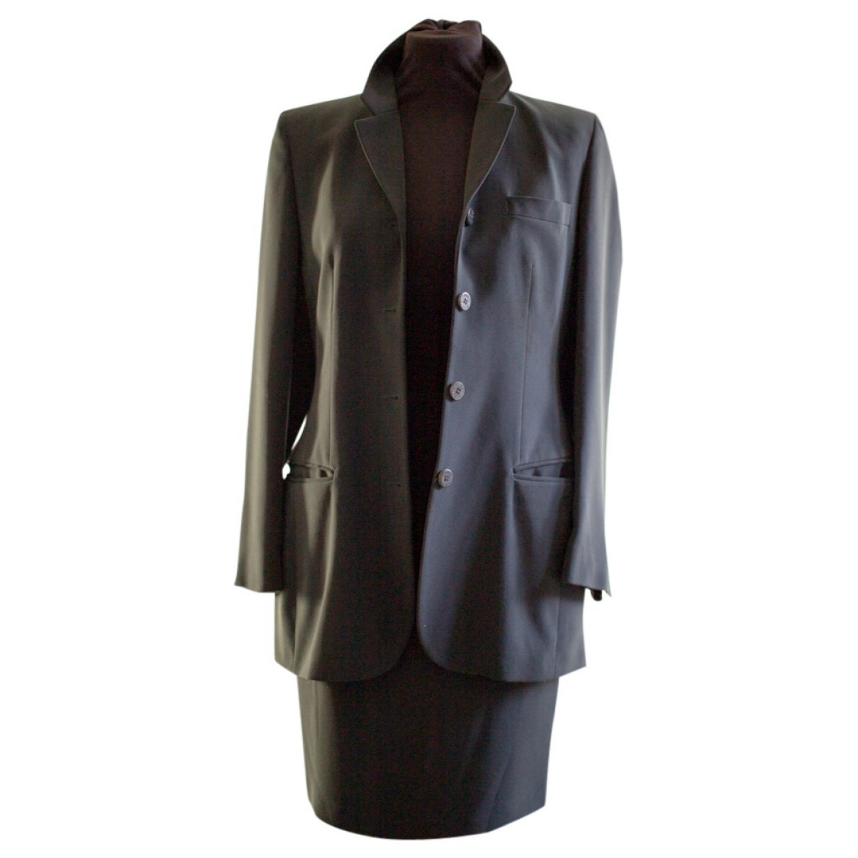 Non Signé / Unsigned \N Anthracite jacket for Women 40 IT