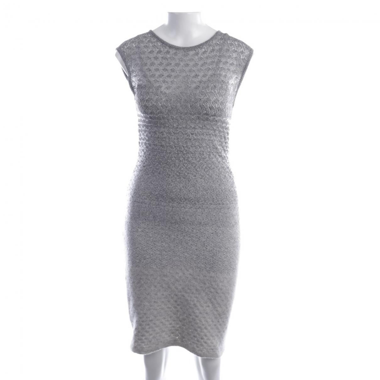 Missoni \N Kleid in  Grau Synthetik