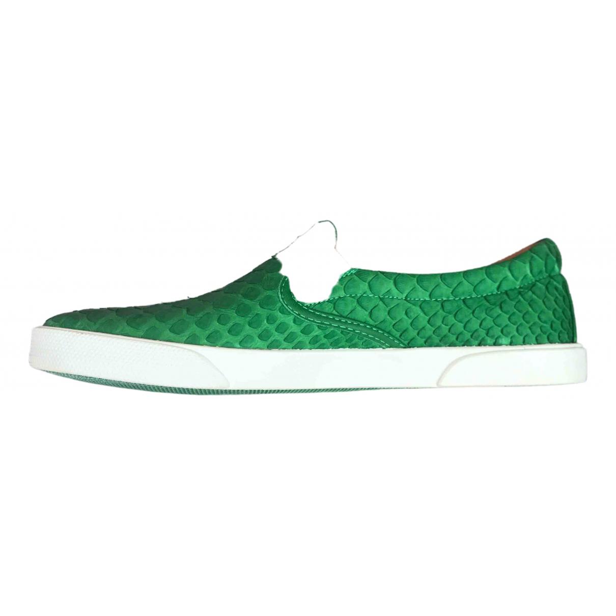 Jimmy Choo \N Sneakers in  Gruen Python