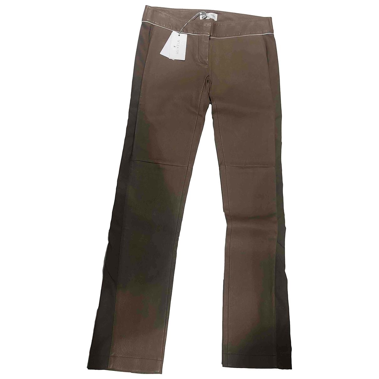 Pantalon de Cuero Patrizia Pepe