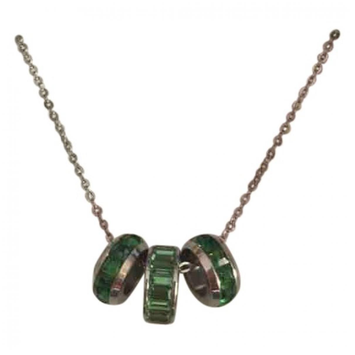 - Collier   pour femme en acier - vert