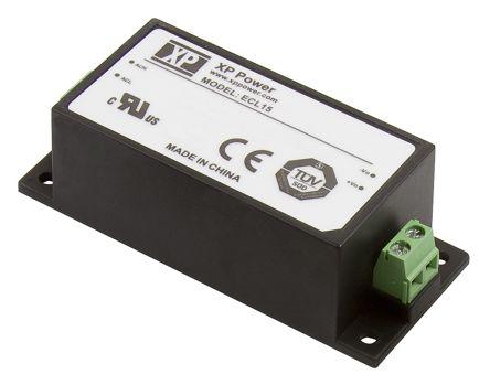 XP Power , 15W AC-DC Converter, 5 V dc, 12 V dc, Encapsulated