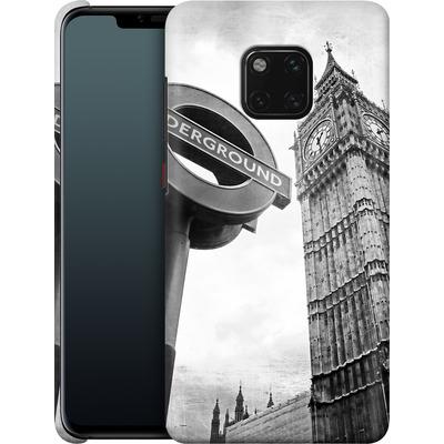 Huawei Mate 20 Pro Smartphone Huelle - Big Ben & Underground von Ronya Galka