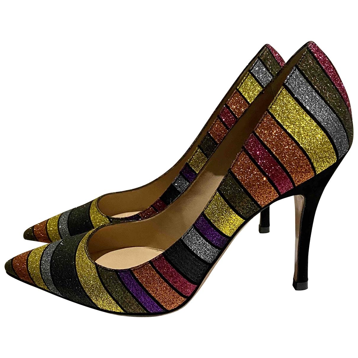 Roberto Festa - Escarpins   pour femme en cuir - multicolore