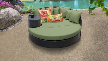 Belle Collection BELLE-SUN-BED-CILANTRO 1 Sun Bed with 4 Large pillows   3 Regular pillows - Wheat and Cilantro