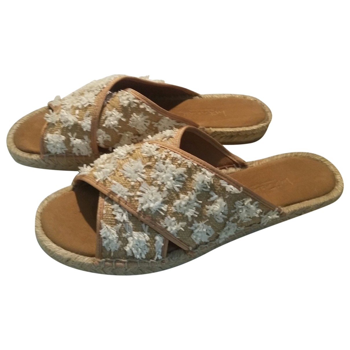 Intrend \N Beige Cloth Sandals for Women 38 EU