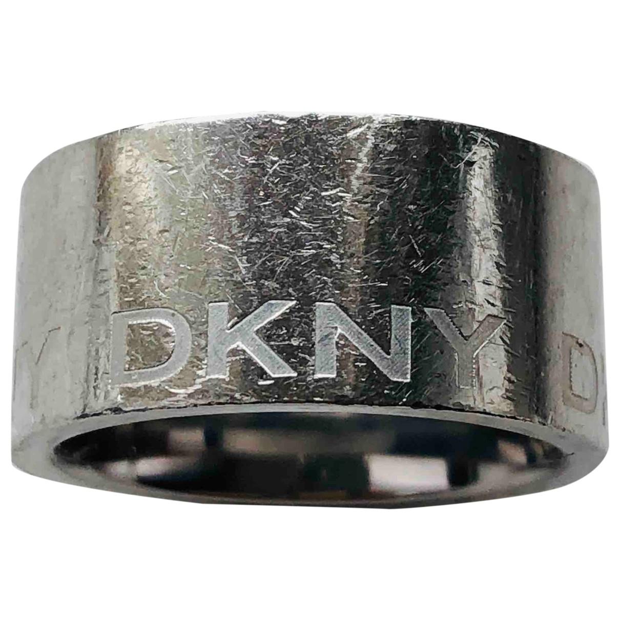 Dkny - Bague   pour femme en metal - argente