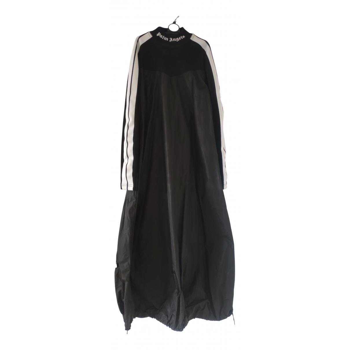 Palm Angels \N Kleid in  Schwarz Synthetik