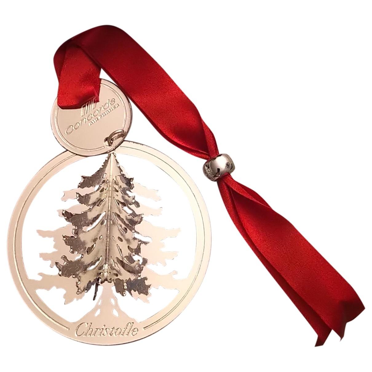 Christofle \N Accessoires und Dekoration in  Silber Metall