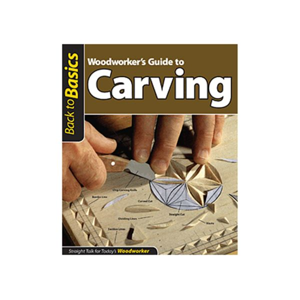 Woodworker's Guide to Carving (Back to Basics)