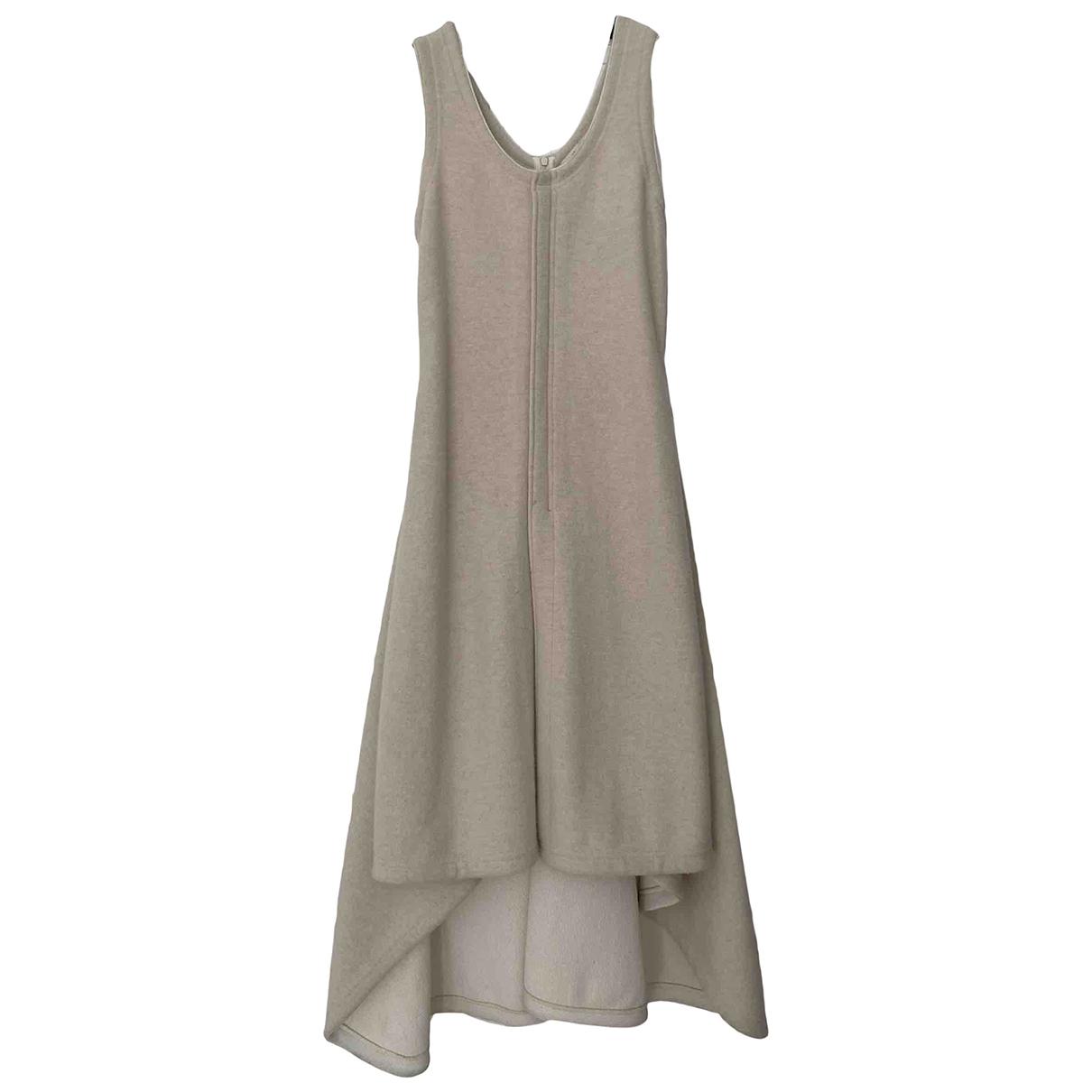 Celine \N Kleid in  Ecru Wolle