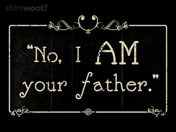 Silent Father T Shirt