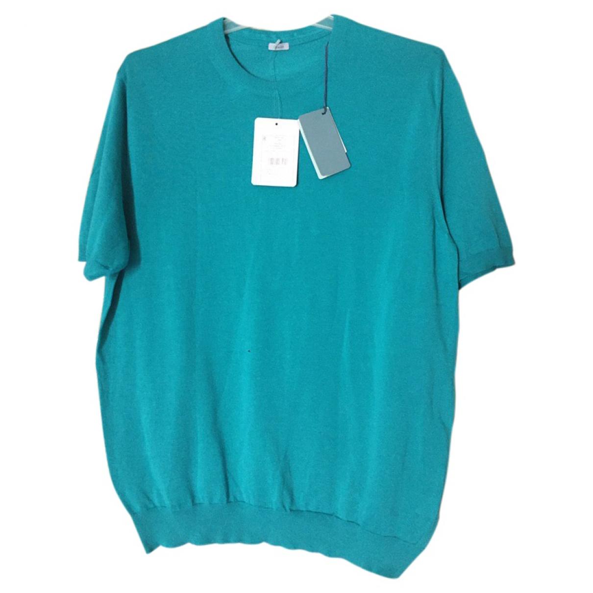 Malo - Chemises   pour homme en coton - turquoise