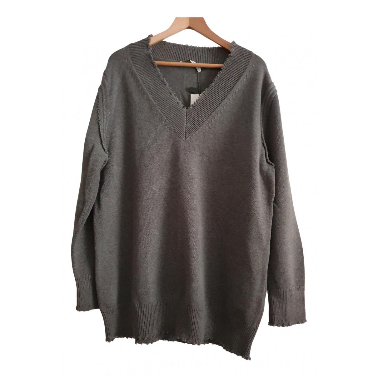 T By Alexander Wang N Grey Cotton Knitwear for Women M International