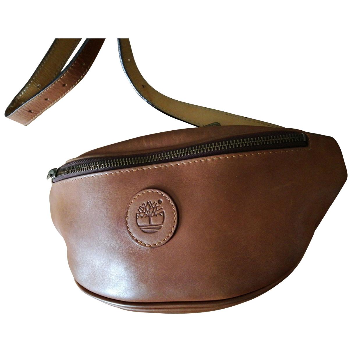 Timberland \N Camel Leather bag for Men \N