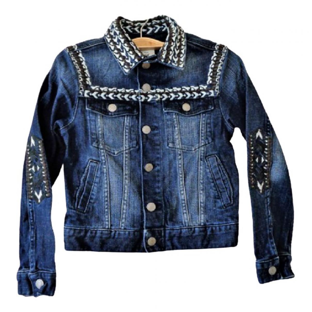 Isabel Marant Pour H&m \N Jacke, Maentel in  Blau Denim - Jeans