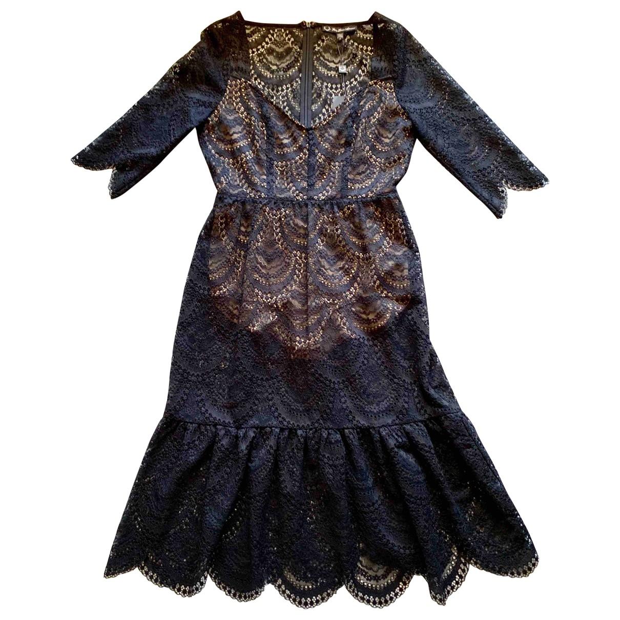 For Love & Lemons \N Kleid in  Schwarz Polyester