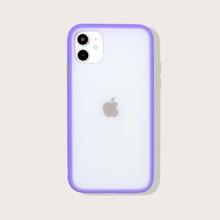 1 Stueck iPhone Schutzhuelle mit Kontrast Rahmen